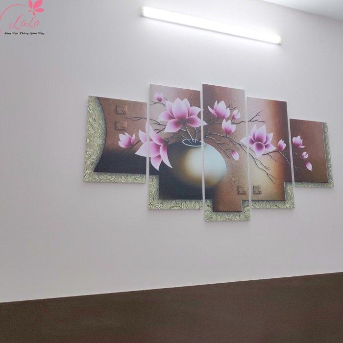 Tranh treo tường hoa ngọc lan