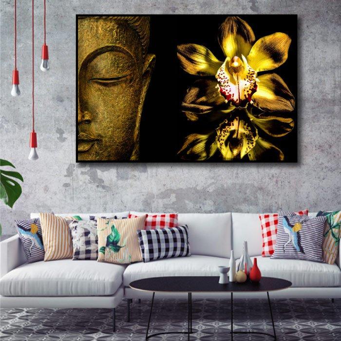 Tranh treo tường tinh hoa Phật giáo