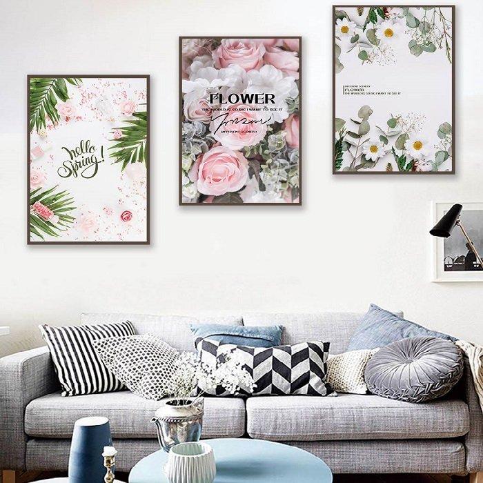 Tranh treo tường hương sắc mùa xuân