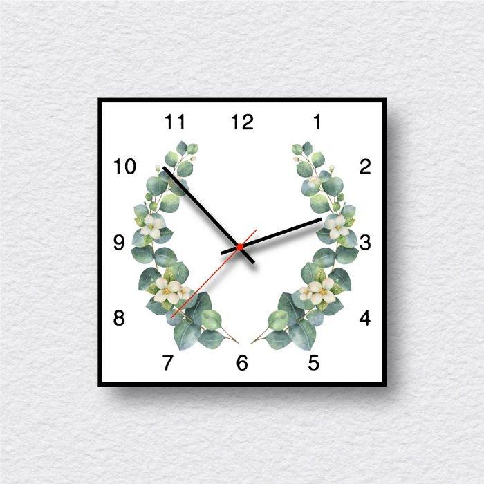Đồng hồ vintage dây lá xanh