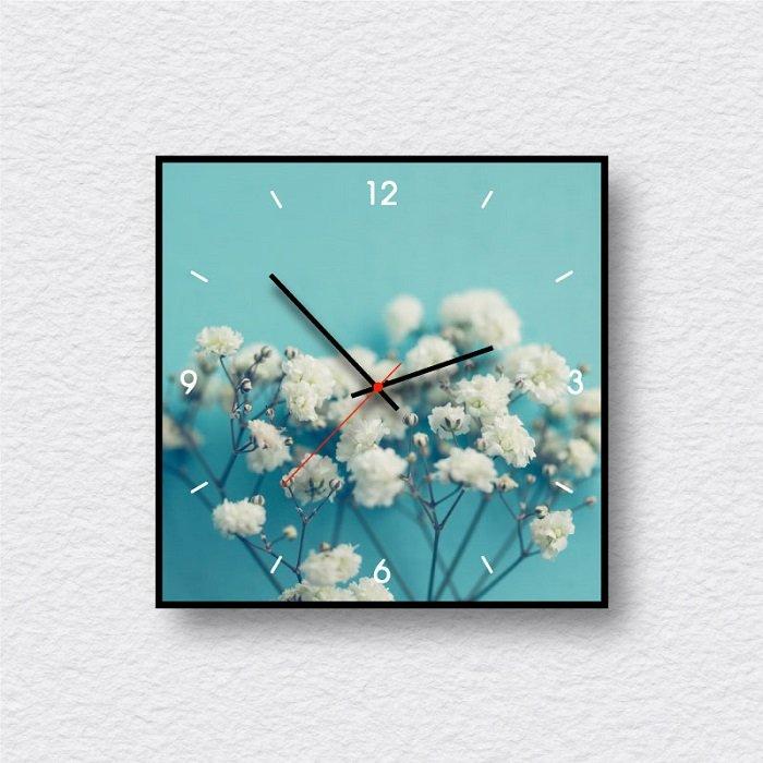 Đồng hồ vintage hoa trắng nhỏ