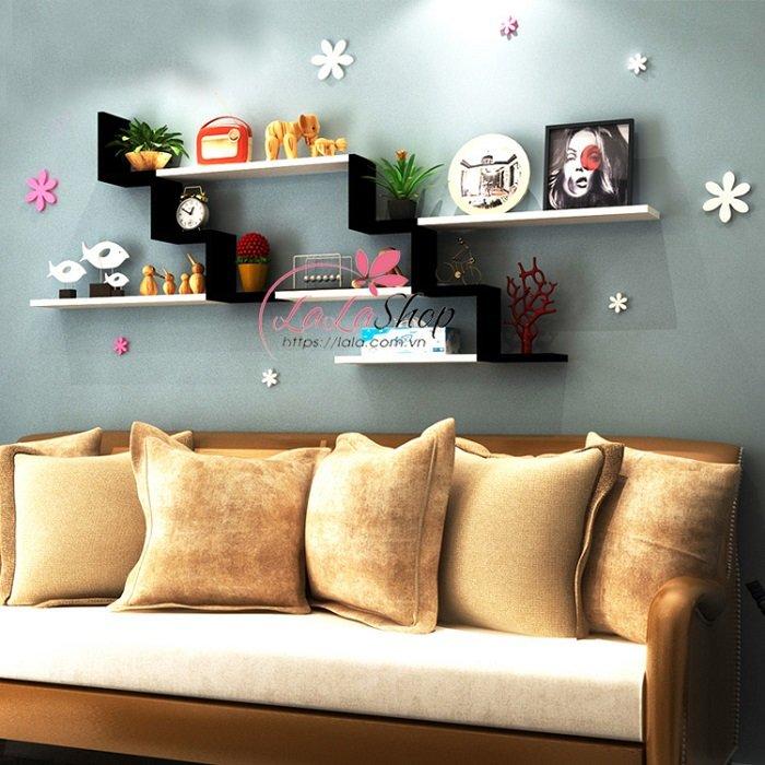 Kệ gỗ trang trí phòng khách TTPK15