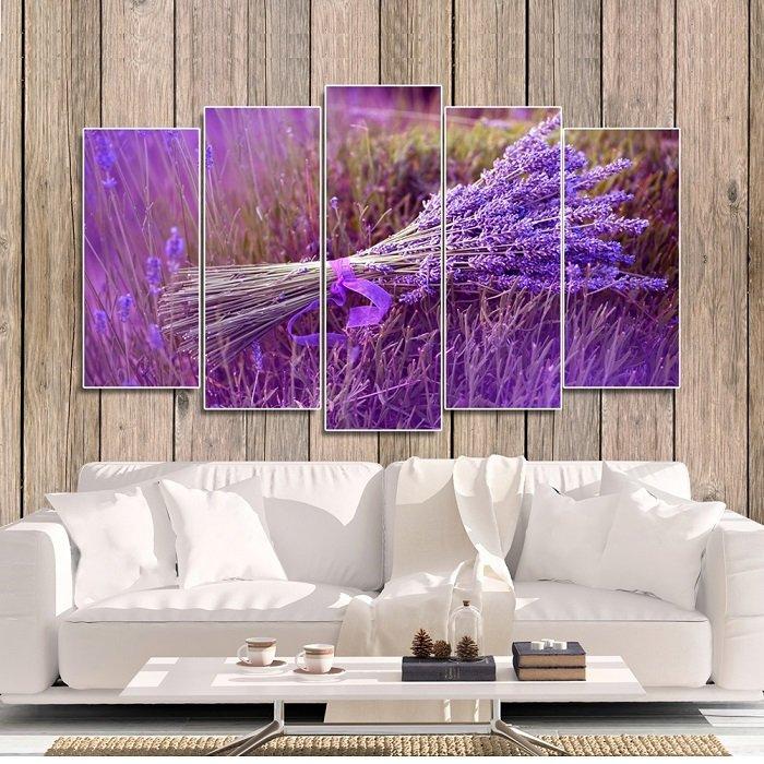 Bộ tranh treo tường hoa oải hương
