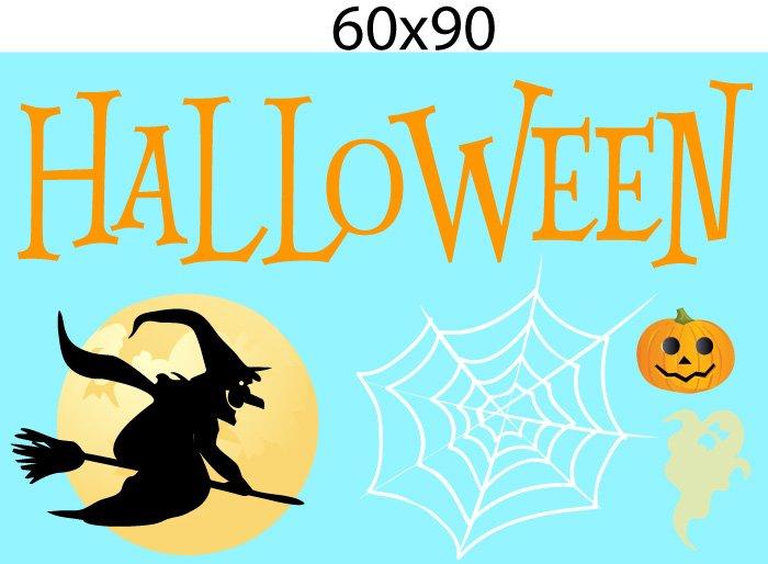 Decal Trang Trí Halloween Rùng Rợn Combo 10