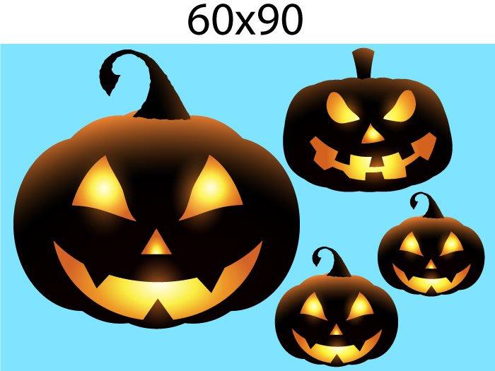 Decal Trang Trí Halloween Rùng Rợn Combo 8