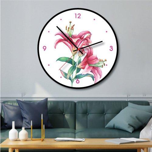 Đồng hồ vintage hoa bách hợp