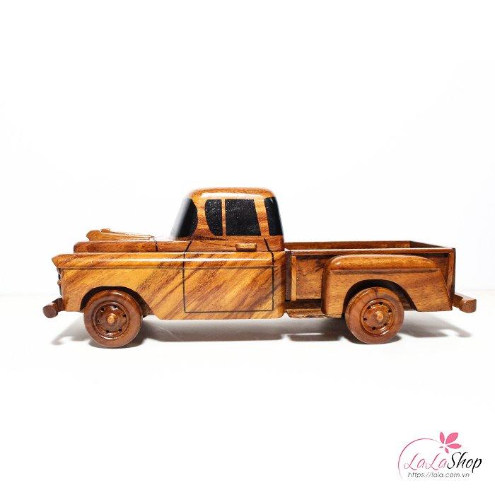 Xe tải gỗ mỹ nghệ
