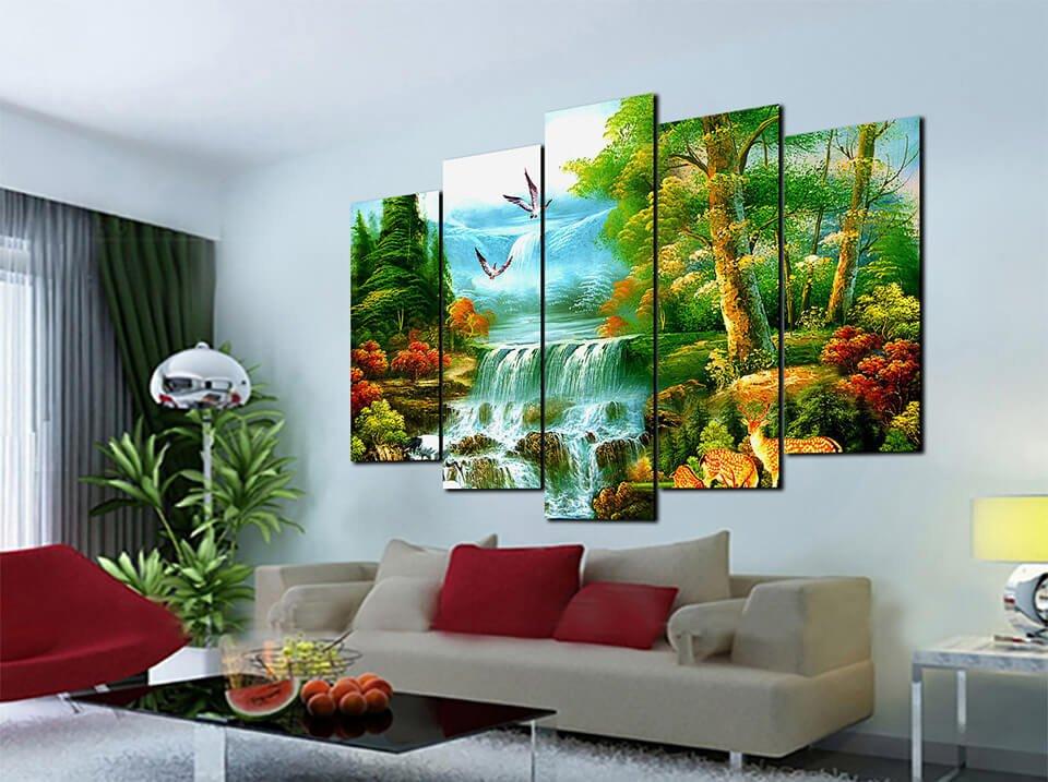 Tranh phong cảnh với vẻ đẹp hấp dẫn khiến nhiều người say đắm