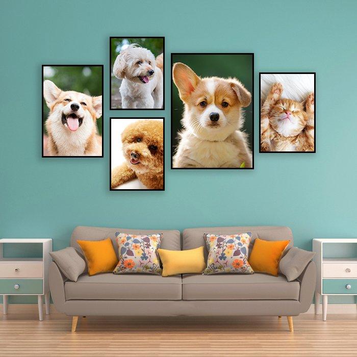 Tranh treo tường những chú cún
