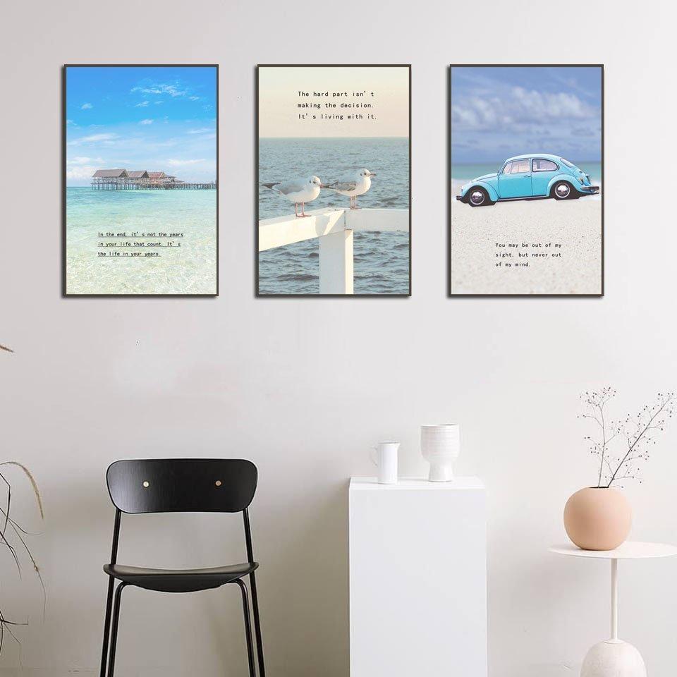 Tranh treo tường phong cảnh du lịch biển