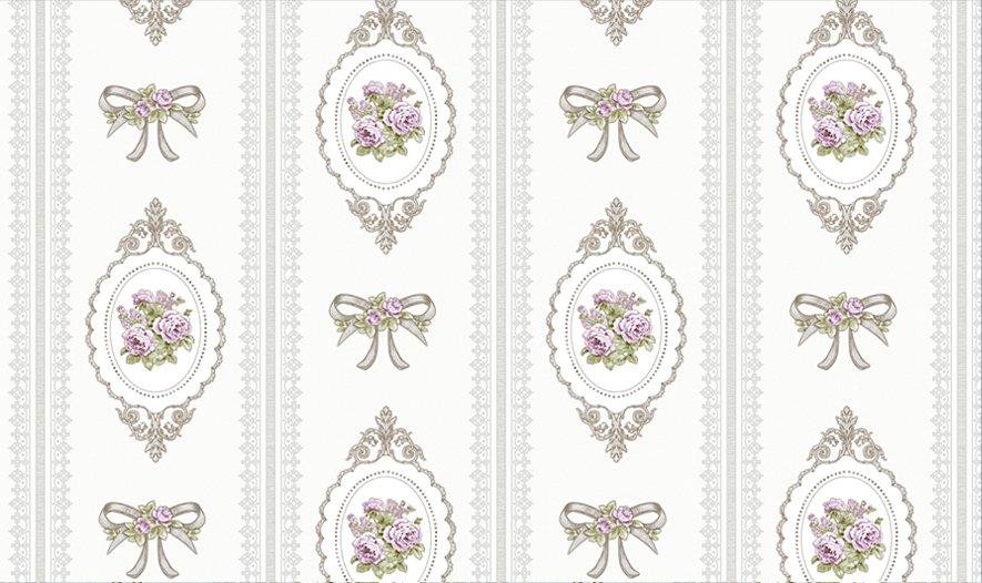 Giấy dán tường hoa hồng GHQ7702