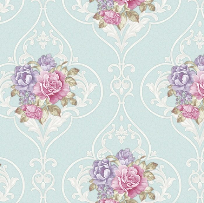 Giấy dán tường hoa hồng GHQ7704