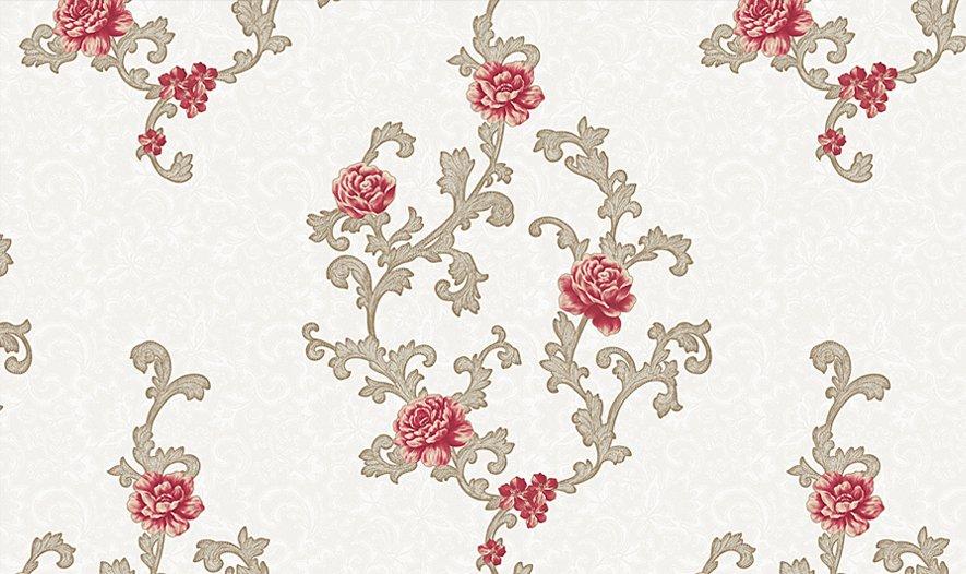 Giấy dán tường hoa hồng GHQ7706
