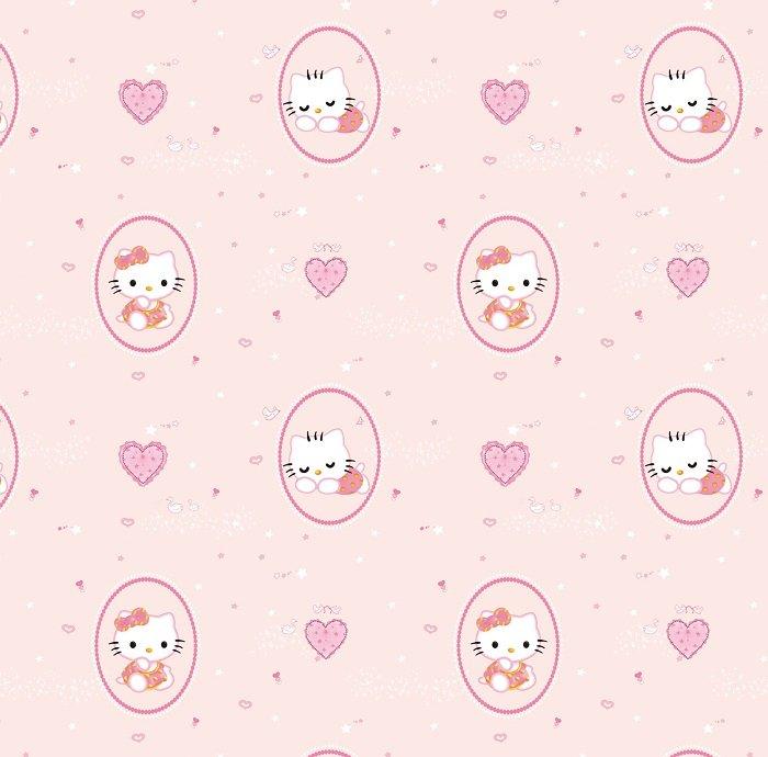 Giấy dán tường hello kitty GHQ2017