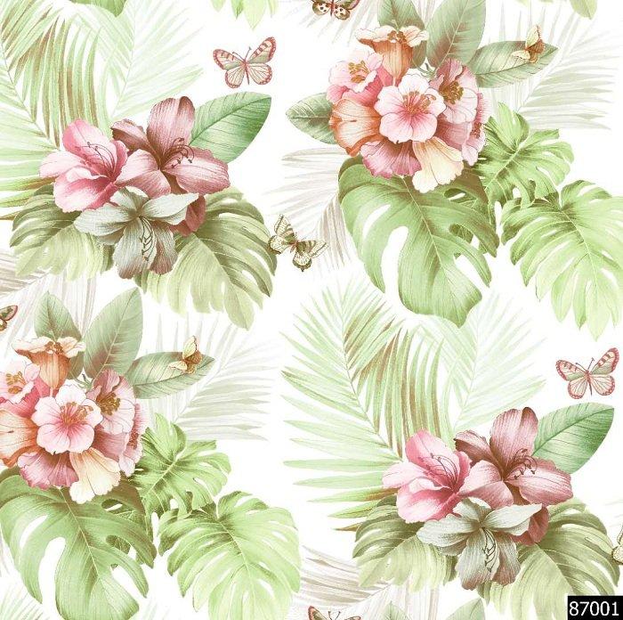 Giấy dán tường hoa GHQ87002