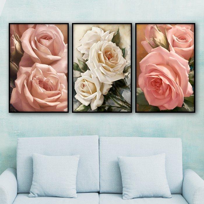 Tranh treo tường vẻ đẹp của hoa hồng