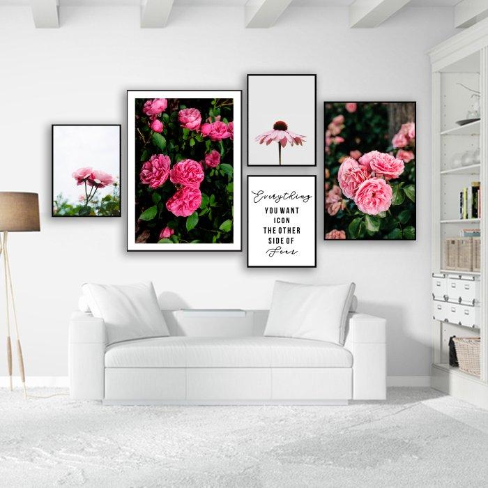 Tranh treo tường nữ thần muôn hoa
