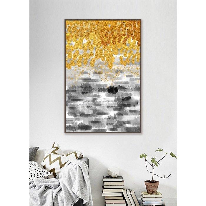 Tranh treo tường nghệ thuật dát vàng