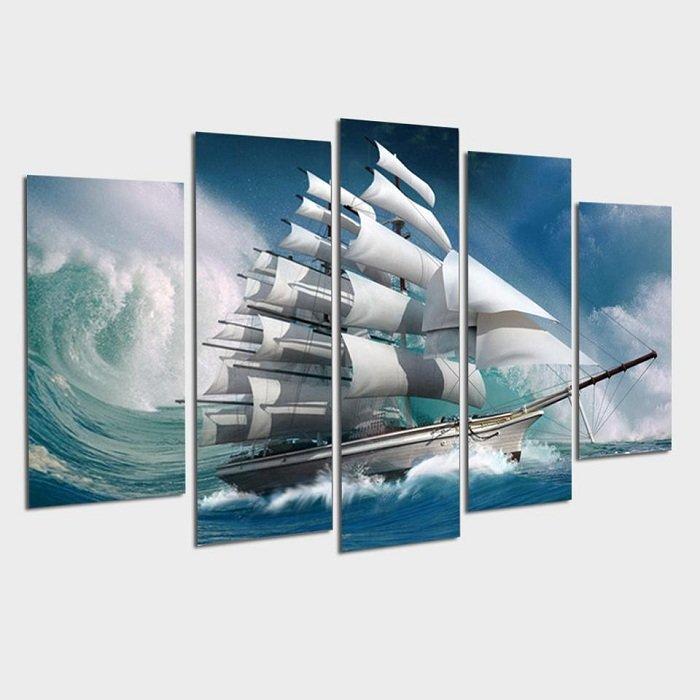 Tranh treo tường thuận buồm xuôi gió 4