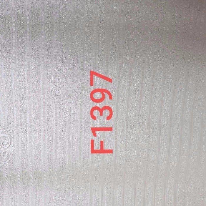 Giấy decal cuộn hoa văn trắng 2