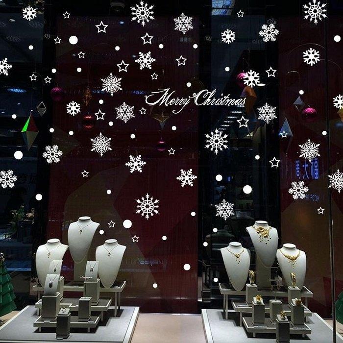 Bông tuyết đêm noel 2 (nền trắng đục)