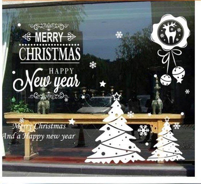combo trang trí noel chúc mừng giáng sinh với cây thông