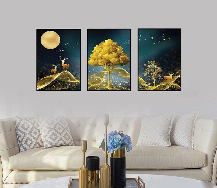 Tranh treo tường phong cảnh đêm