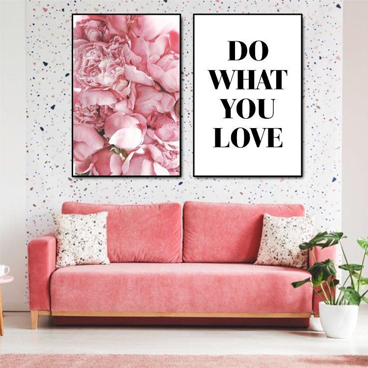 Tranh treo tường do what you love