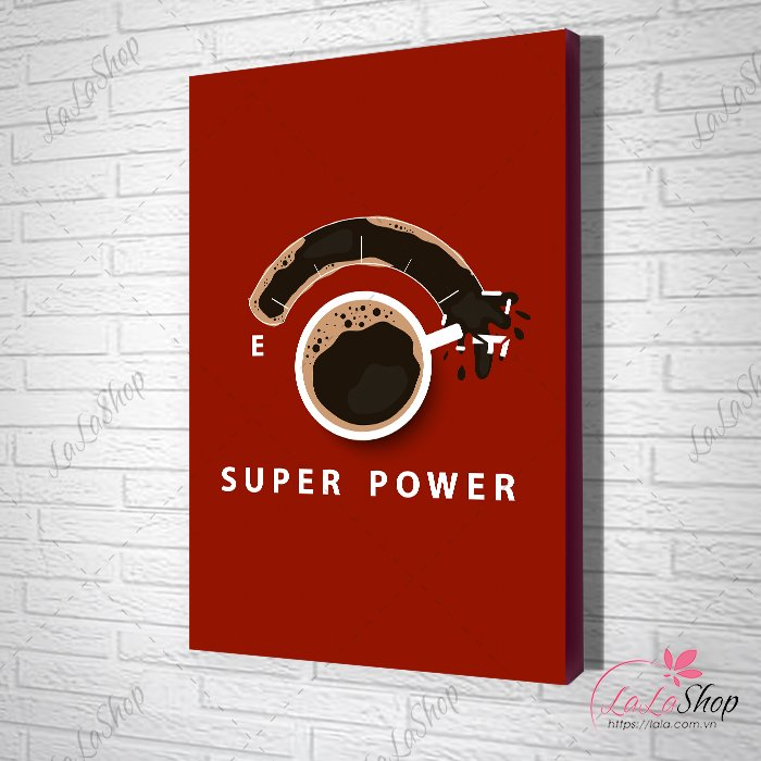 Tranh slogan super power