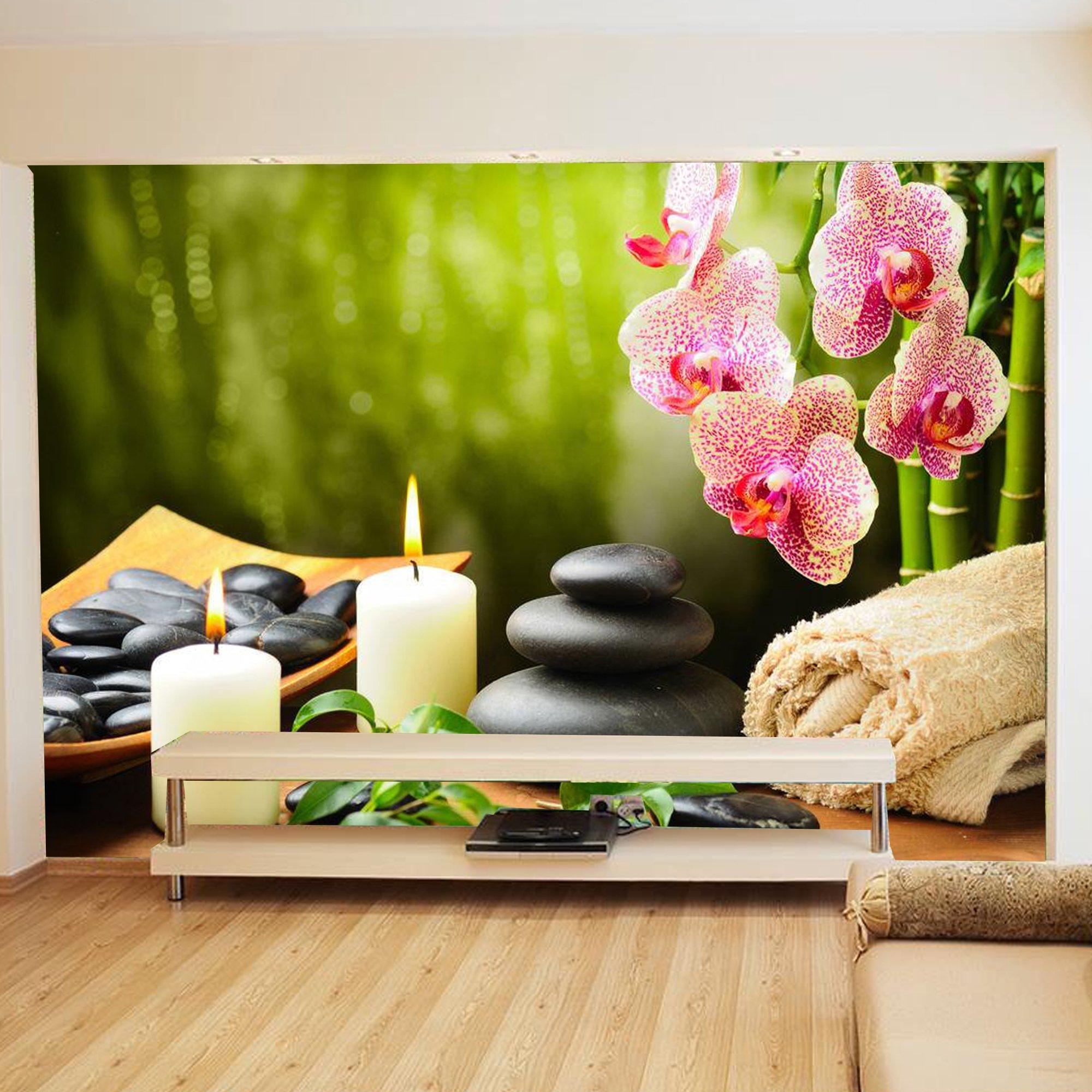 Tranh dán tường spa