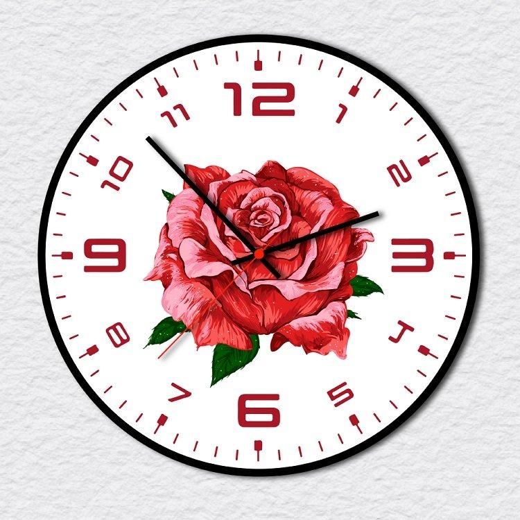 Đồng Hồ Vintage đóa hoa hồng