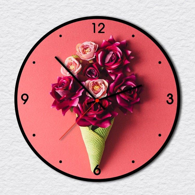 Đồng Hồ Vintage hoa hồng 3