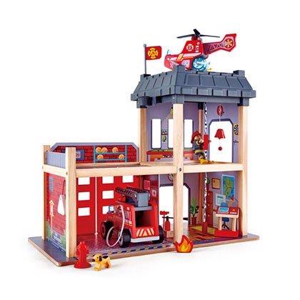 Đồ chơi trạm cứu hỏa 3 tầng bằng gỗ HAPE (TN)