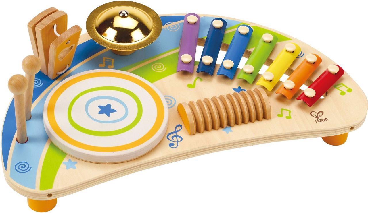 Bộ đồ chơi nhạc cụ 5 trong 1 HAPE (TN)