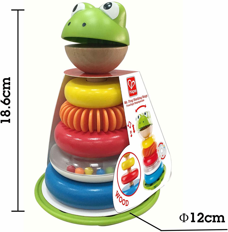 Đồ chơi tháp xếp chồng chú ếch HAPE (TN)