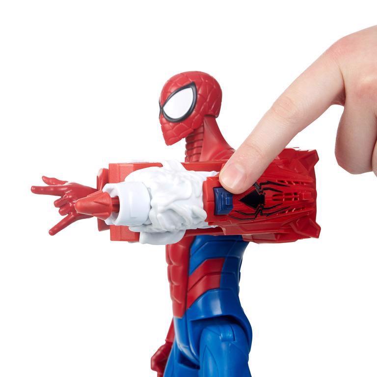 Đồ chơi chiến binh Titan trang bị giáp Spiderman (TN)