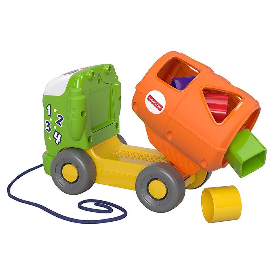 Bộ đồ chơi thả khối tàu hỏa có đèn và nhạc FISHER PRICE (TN)