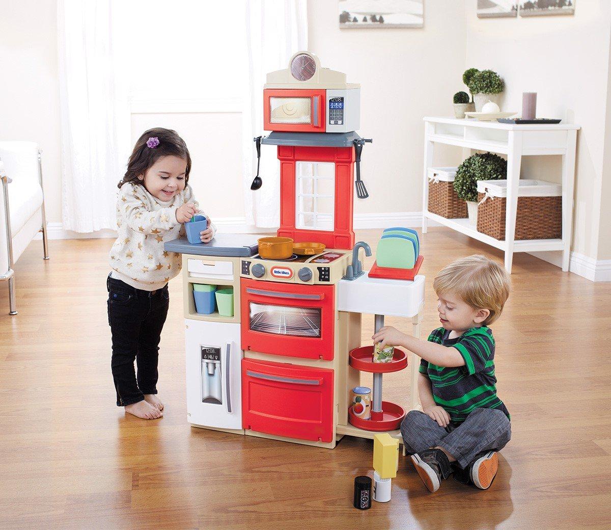 Bộ đồ chơi nhà bếp màu đỏ Little Tikes (TN)