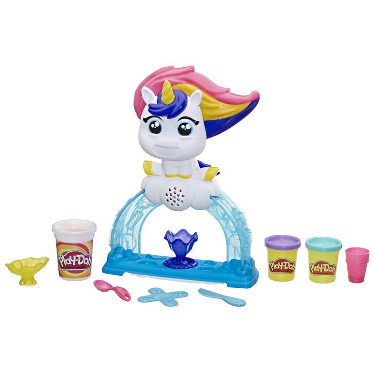 Đồ chơi đất nặn máy làm kem Unicorn kỳ diệu PLAY-DOH (TN)