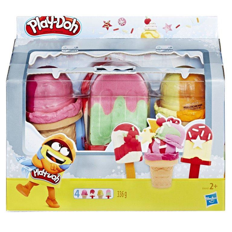 Bộ đồ chơi đất nặn 4 loại kem Play-Doh
