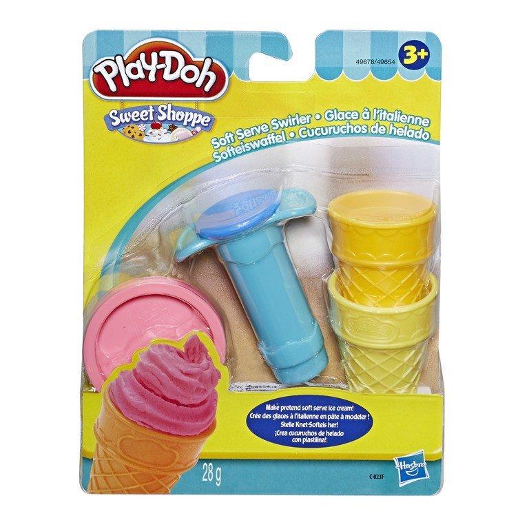 Bộ đồ chơi đất nặn dụng cụ làm kem mini PLAY-DOH
