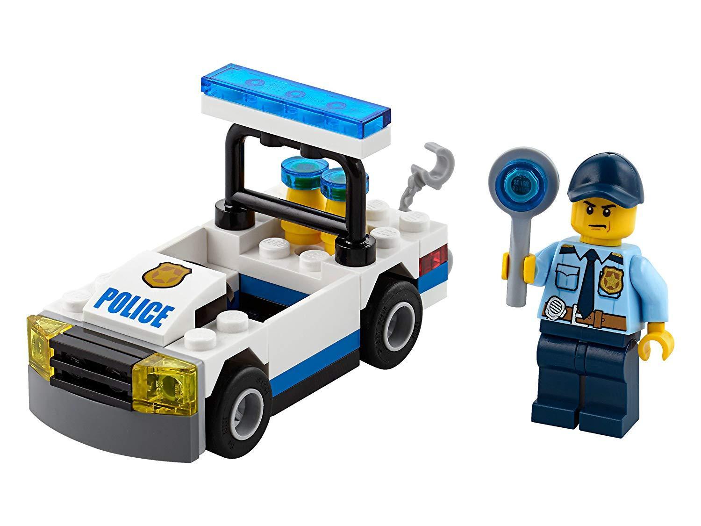 Đồ Chơi Lắp Ráp LEGO Xe Cảnh Sát 30352- Hàng chính hãng MYKINGDOM