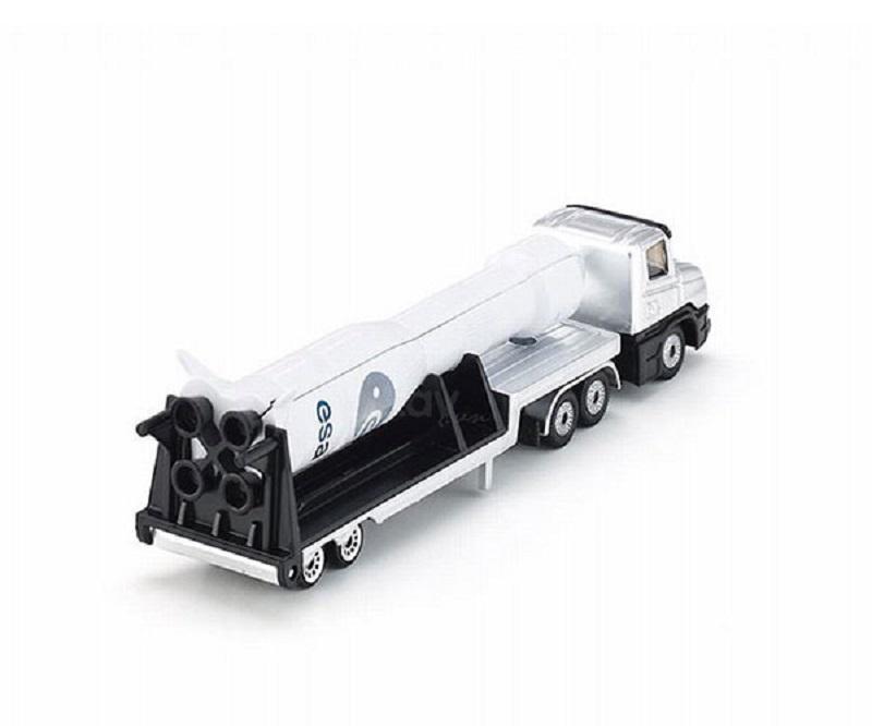 Đồ chơi xe tải sàn thấp  SIKU 1614- Hàng chính hãng MYKINGDOM