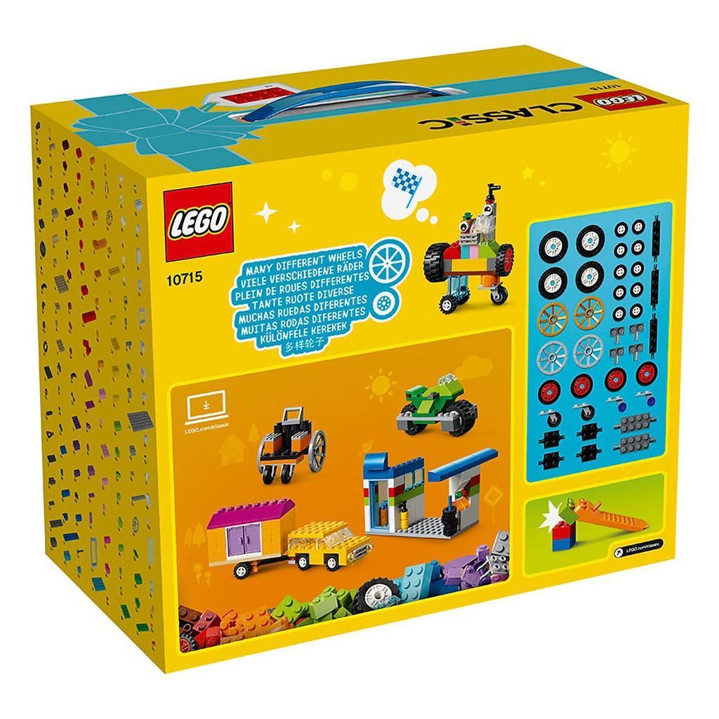 Hộp LEGO Classic Sáng Tạo LEGO CLASSIC - 10715 (442 chi tiết)- Hàng chính hãng MYKINGDOM
