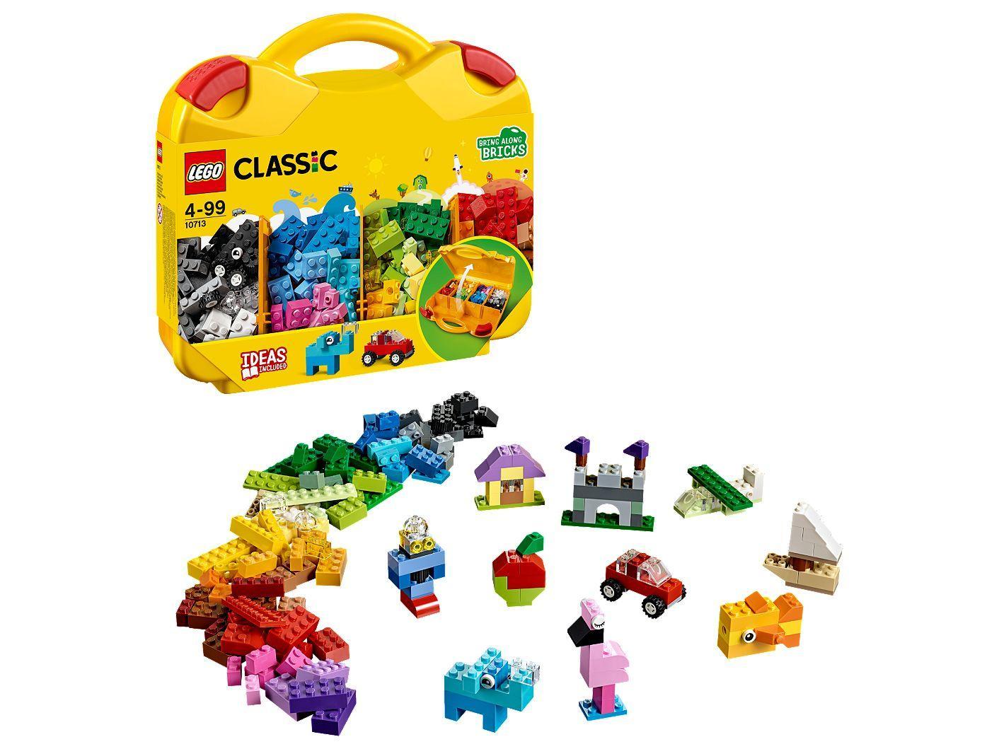 Vali LEGO Classic Sáng Tạo LEGO CLASSIC - 10713 (213 chi tiết)- Hàng chính hãng MYKINGDOM