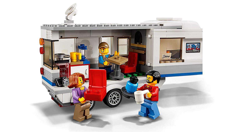 Xe Cắm Trại Caravan LEGO 60182- Hàng chính hãng MYKINGDOM