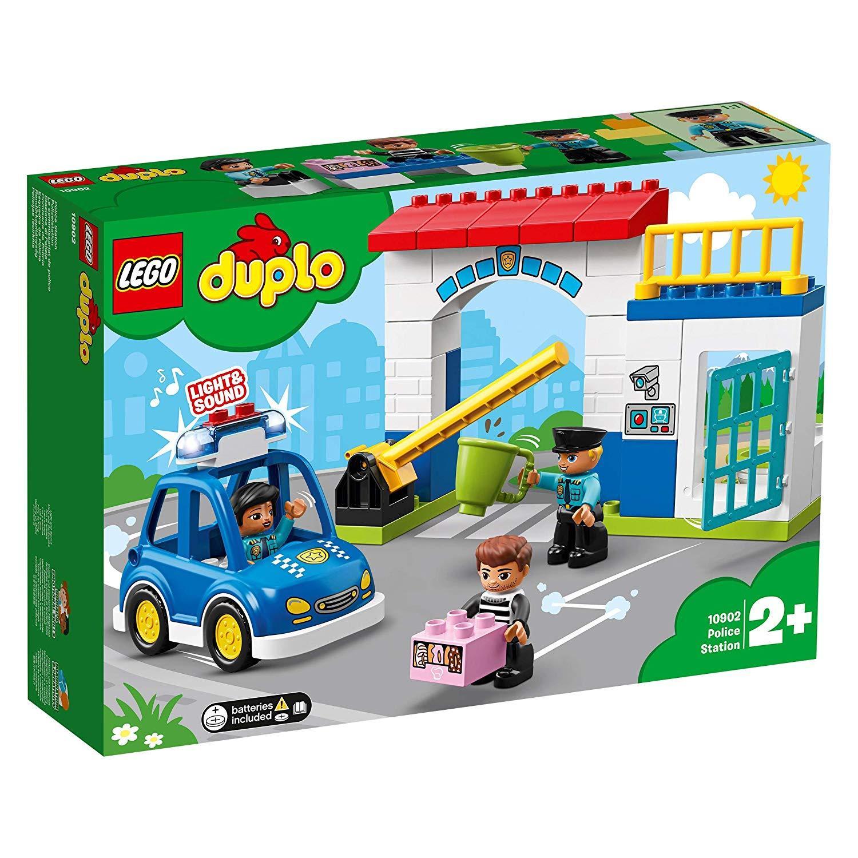 Đồ Chơi Lắp Ráp LEGO DUPLO Trạm Cảnh Sát Của Bé 10902- Hàng chính hãng MYKINGDOM