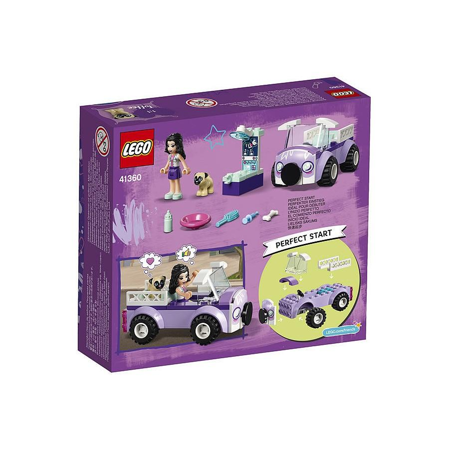 Đồ Chơi Lắp Ráp LEGO Phòng Khám Thú Y Lưu Động Của Emma 41360- Hàng chính hãng MYKINGDOM