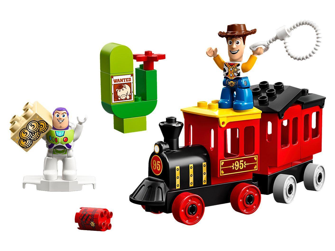 Câu Chuyện Đồ Chơi Xe Lửa LEGO DUPLO 10894- Hàng chính hãng MYKINGDOM