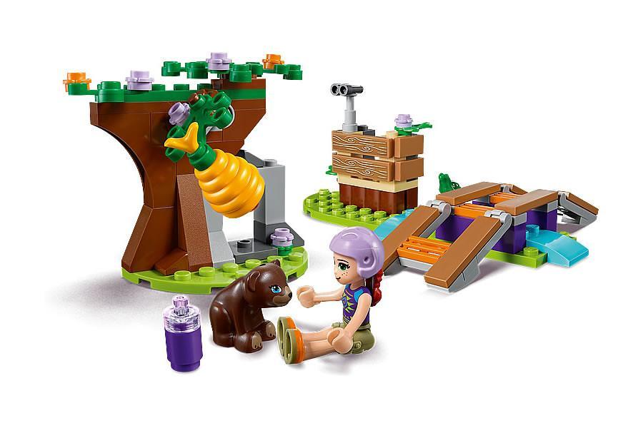 Đồ Chơi Lắp Ráp LEGO Cuộc Dạo Chơi Trong Rừng Của Mia 41363- Hàng chính hãng MYKINGDOM
